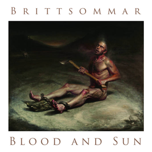 Blood and Sun, Brittsommar, 7 inch split album cover, Released by Pasanta Urfolk 2016